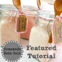 Homemade Bath Salt DIY Gift - EverythingEtsy.com